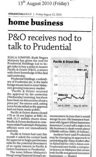 P&O-receives-nod-to-talk-to-Prudential