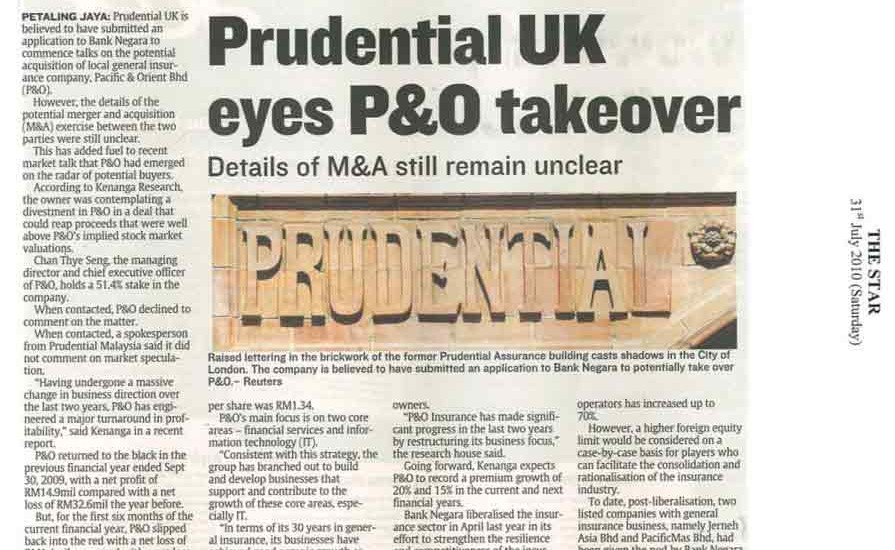 Prudential-UK-eyes-P&O-takeover