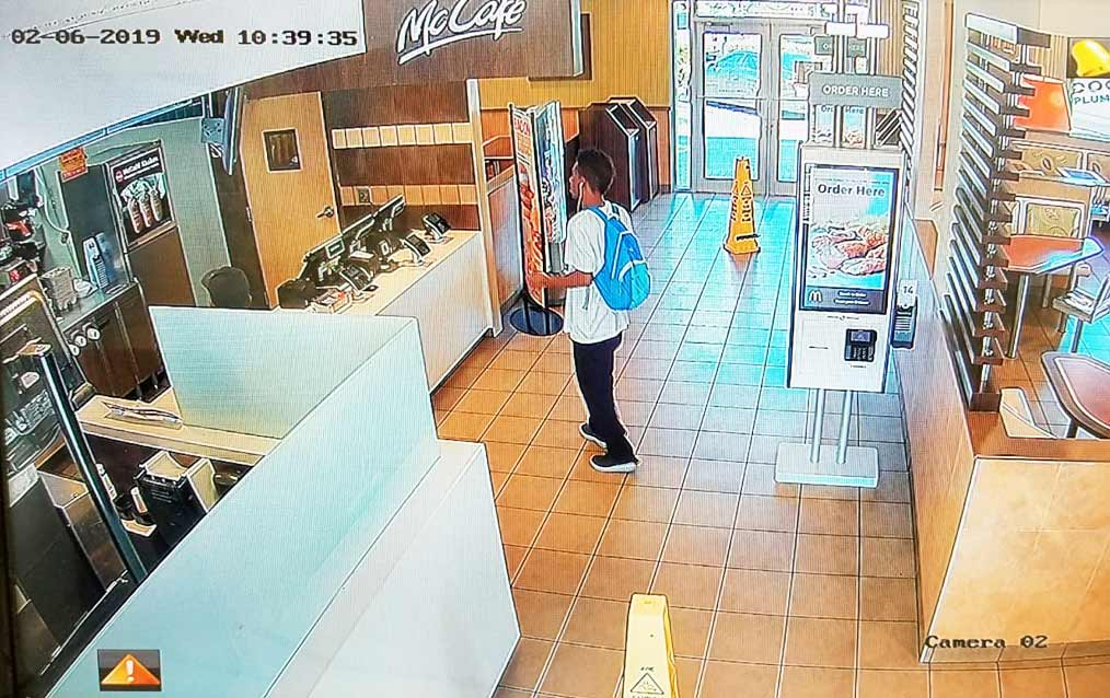 mcdonalds-security-camera-intallation-to-restaurant