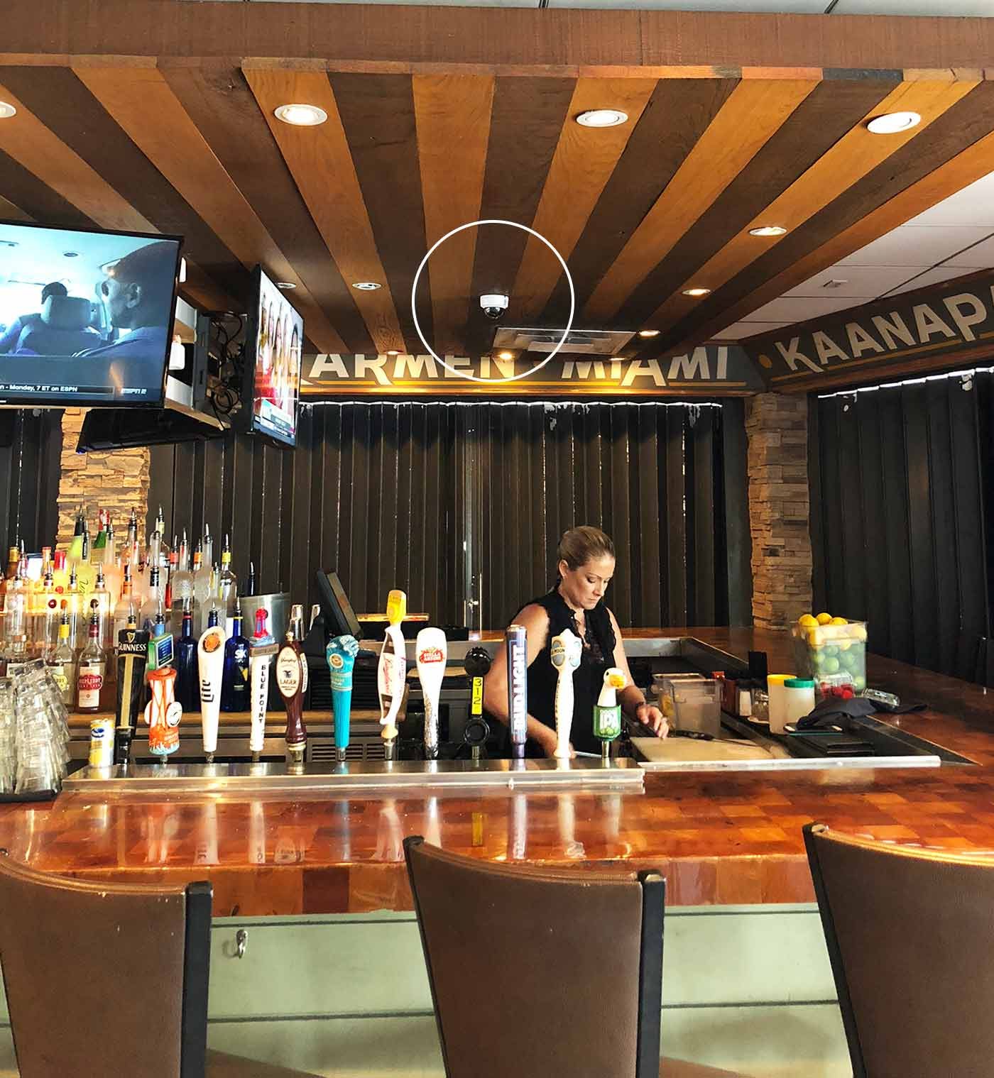 restaurant-bar-security-camera-installation