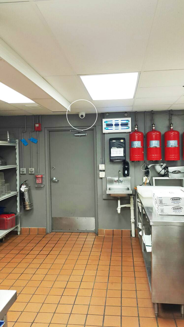 restaurant-kitchen-security-camera-installation