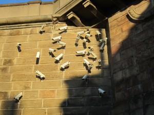 security cameras art
