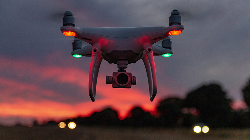 drone-at-night-caught-by-cctv