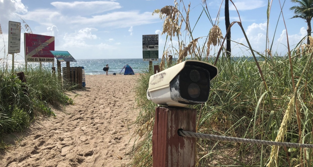 earth day security cameras recycle technology