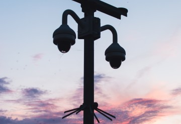silhouette-photo-of-cctv-1135452